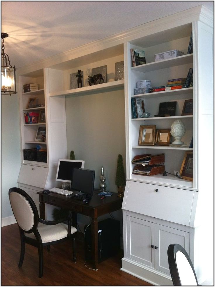 Wall Unit Desk Ikea Hemnes Secretary Desk Hack » Writing Desk Ideas 2015