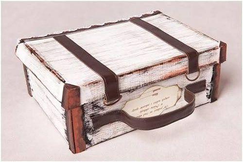 Μετατρέψτε ένα κουτί παπουτσιών σε πανέμορφο Vintage  βαλιτσάκι!