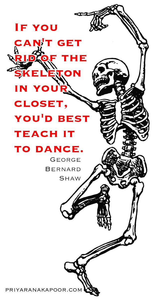 Skeletons - George Bernard Shaw - Priya Rana Kapoor - Life Coach and Author