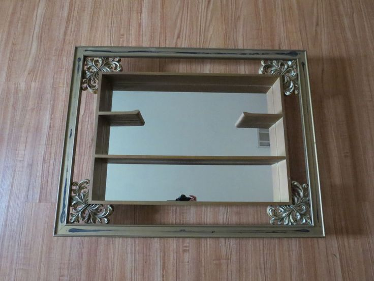 9 Best Mirror Shadow Boxes Images On Pinterest