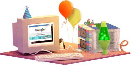 Google fête son 17e anniversaire