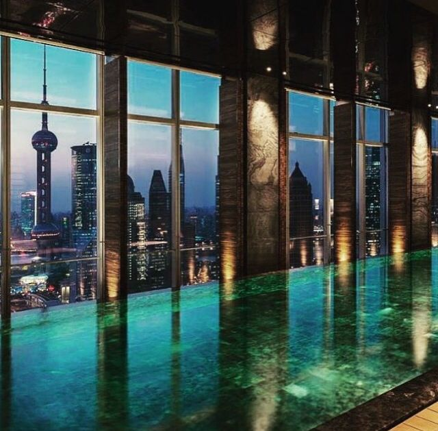 20 best flare spa images on pinterest shanghai spa and spas - Shanghai infinity pool ...