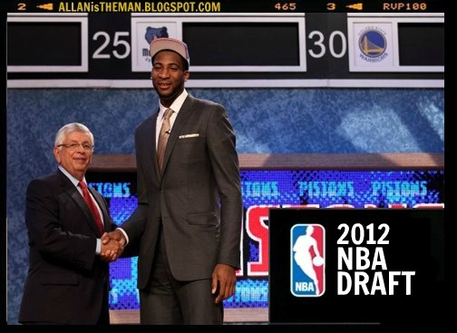 '2012 NBA Draft' Results: Kentucky's Anthony Davis is Picked No.1 | ALLAN is the MAN