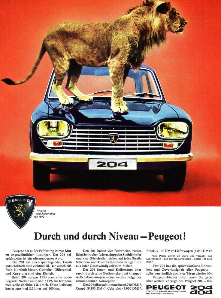 Peugeot  204 (1967) Niveau mit Löwe | by H2O74