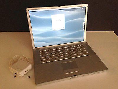 PowerBook G4 MAC OS X 10.4.11 15-inch 1.5 GB DDR SDRAM 1.5 GH PowerPC G4