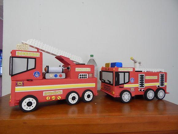 decoração bombeiro