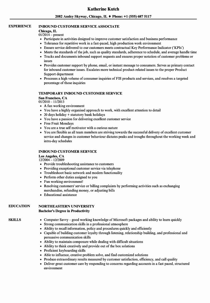 Call Center Jobs Description Resume Awesome Call Center