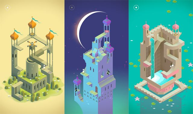 monument valley game wallpaper - Google Search