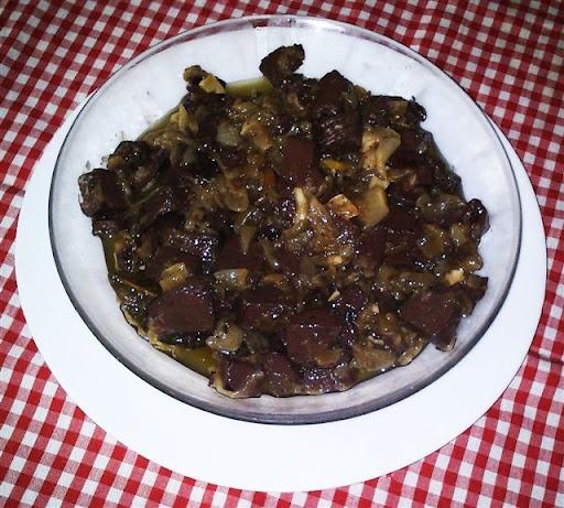 Sangre Encebollada. Recetas, Gastronomía, Food, recipes, Gastronomy