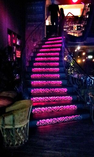 Beautiful stair, in restaurant Cantina.  Mexican tapas in Arnhem