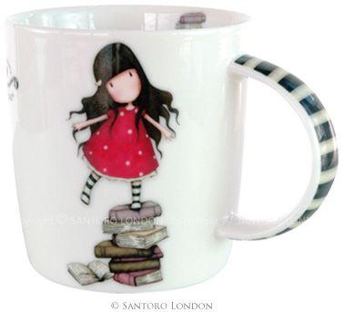 Taza de Gorjuss New Heights #gorjuss #cafe #libros #tazas #santoro #xtremonline