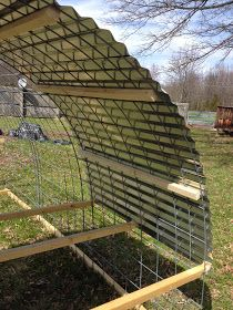 This post is long and long overdue. I built a chicken tractor over the spring. What's a chicken tractor you ask? Well that depends on if y...