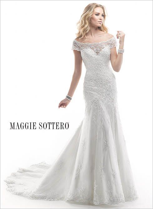 Large View of the Calypso Bridal Gown