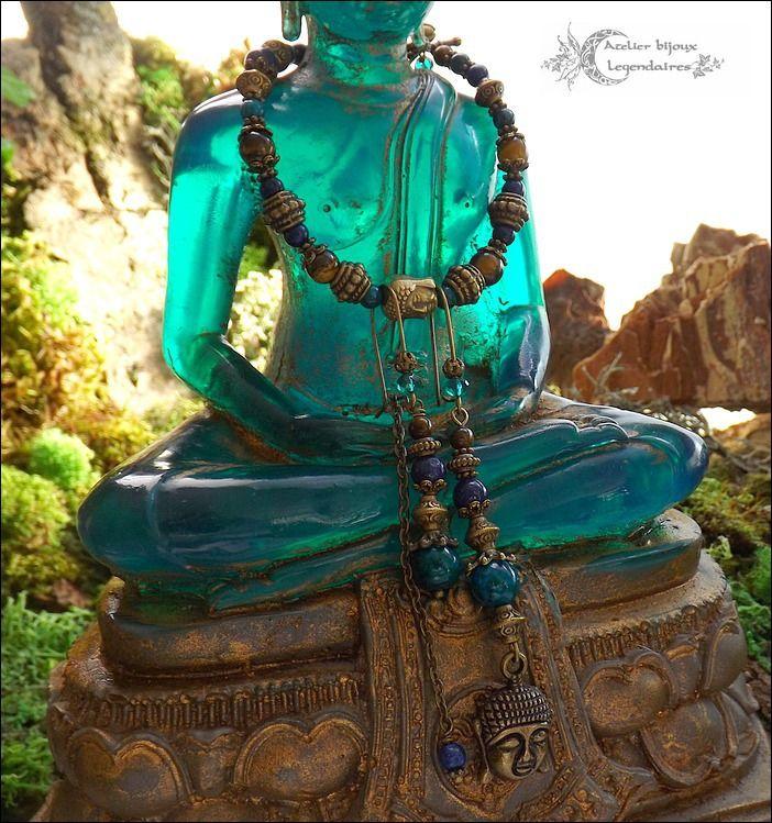 fr_alliance_minerale_parure_boheme_bouddha_bronze_bracelet_boucles_chrysocolle_oeil_de_tigre_lapis_lazuli_
