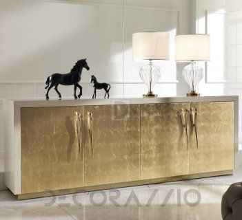 GOLD SIDEBOARDS The Embodiement Of Luxury And Refinement, Gold Will Always  Look Good On Your Furniture. Check Out These Amazing Golden Sideboards!
