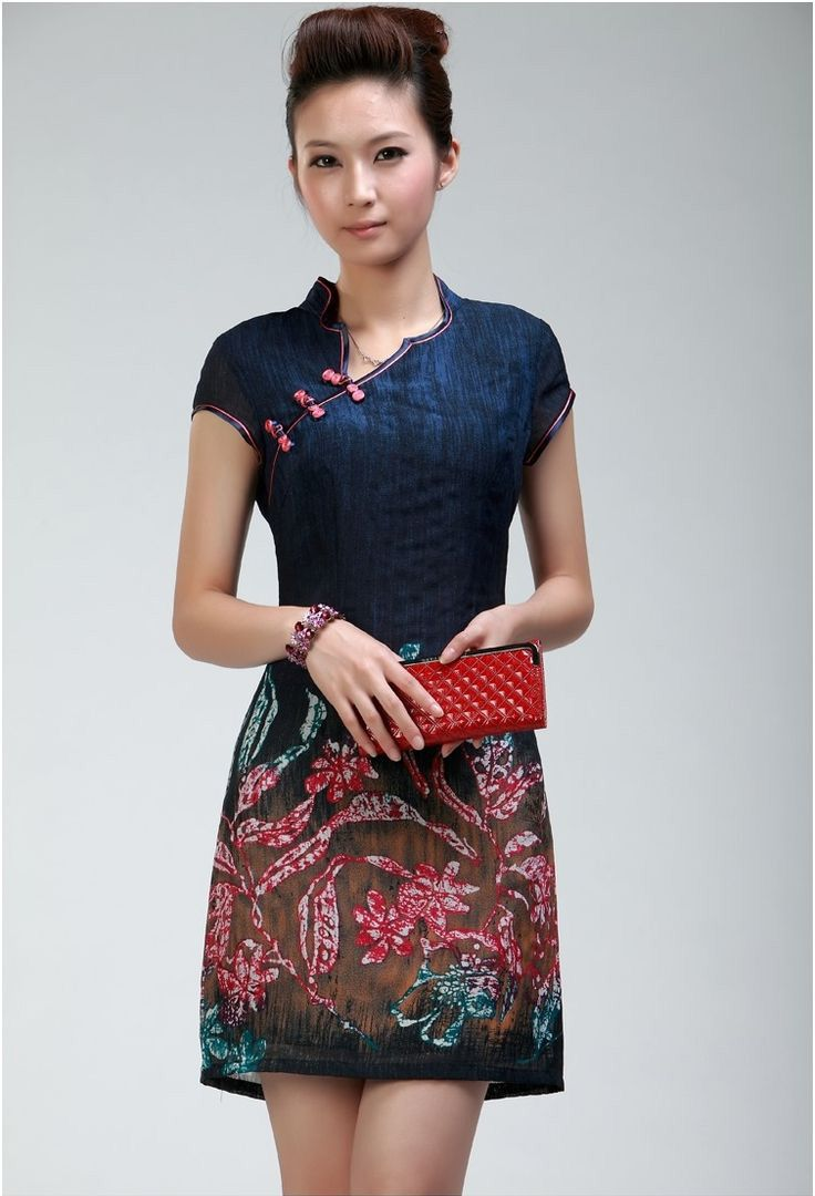 A modern take on the traditional Cheongsam dress. This is a great website when looking for the perfect Cheongsam. $70.