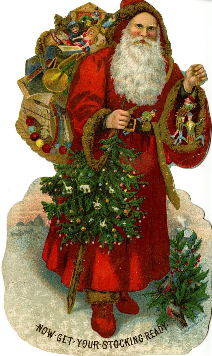 St nicholas christmas google search st nicholas a k for Christmas santa decorations