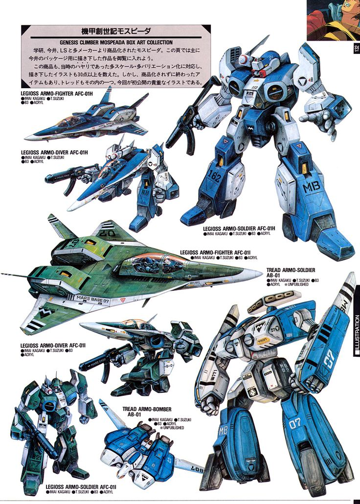 Looks like the Alpha fighter and Beta fighter from Macross: Invid Invasion