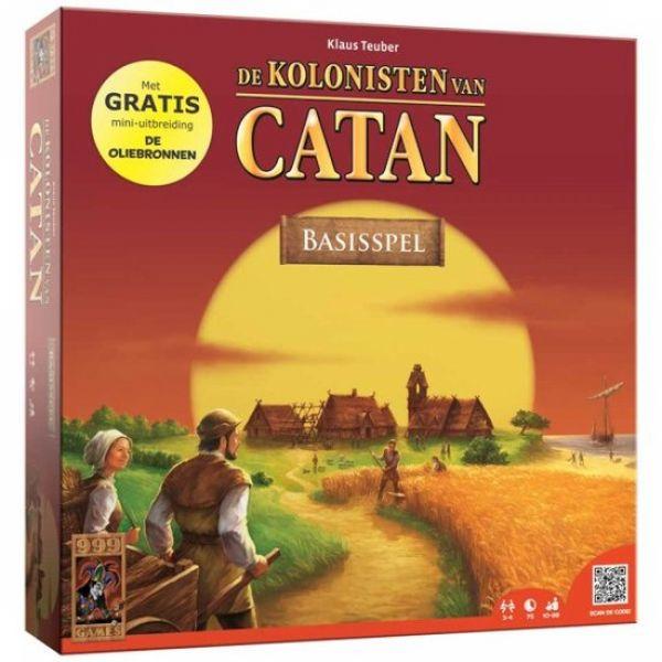 Waan je in het tijdperk van de ontdekkingsreizen: je schepen hebben na een lange tocht vol ontberingen de kust van een onbekend eiland ontdekt. Het eiland wordt Catan genoemd!  Je bent echter niet de enige...