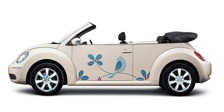 images  ideas   pink volkswagen beetle dream car  pinterest vinyls cars