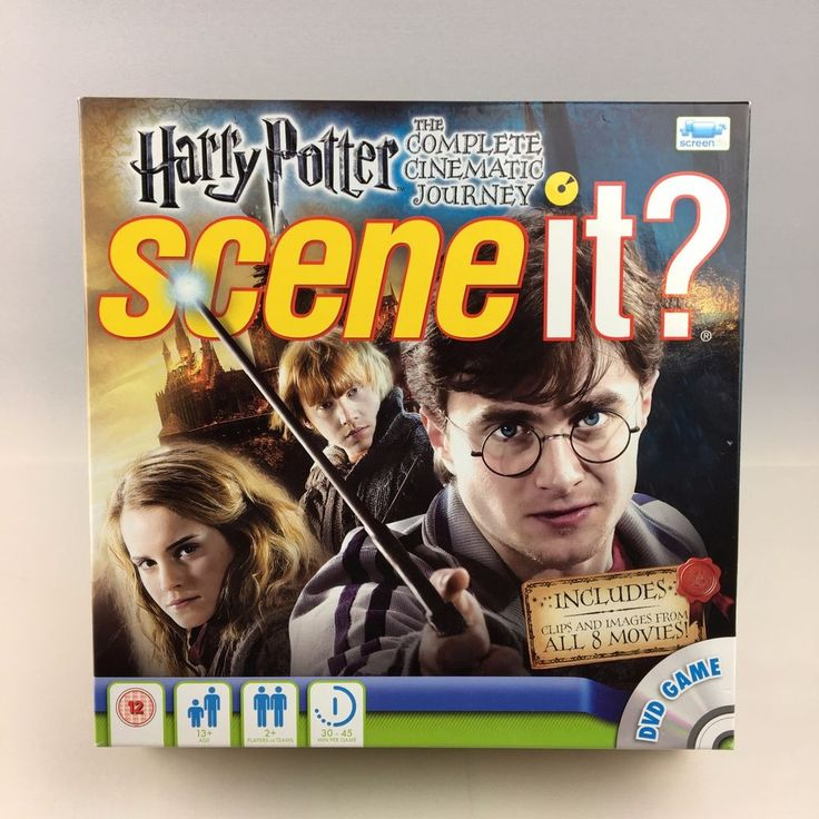 Harry Potter The Complete Cinematic Journey SCENE IT? The DVD Game - Complete