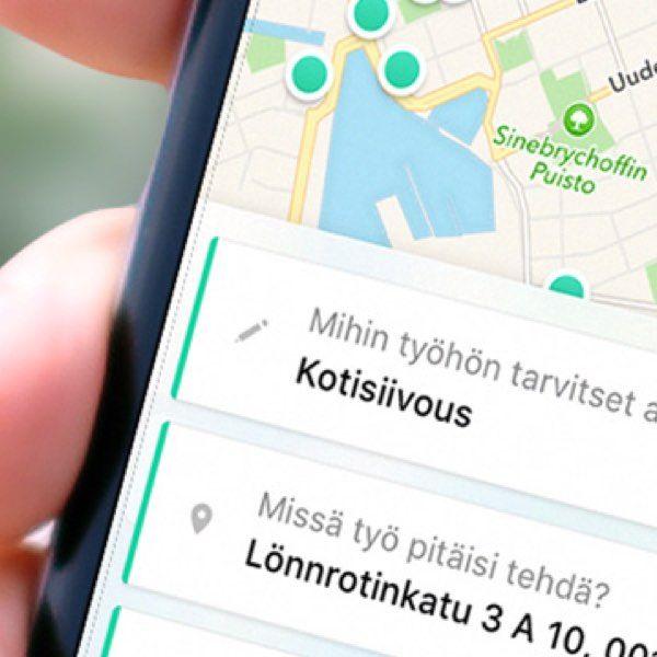 Treamer on tilapäisiä apulaisia välittävä mobiilipalvelu. Treamer yhdistää työn ja tekijän minuuteissa.