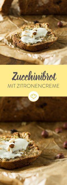 Saftig, lecker, weich: Dieses Brot ist nicht nur gesund, sondern schmeckt dank der Zucchini auch noch nach Tagen wie frisch vom Bäcker.