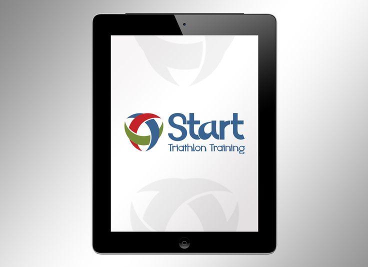 """Логотип для компании """"START"""".  Триатлон в Екатеринбурге. Тренировки по плаванию, бегу, велотренировки.  #логотип #студияграфическогодизайначетверка#екатеринбург#триатлон#графическийдизайн#айдентика"""