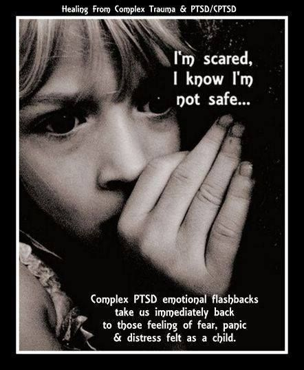 I am scared, I am not safe - PTSD we remember past harms