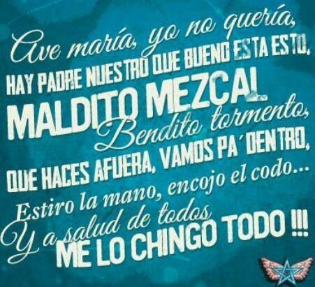 Maldito mezcal 're u a mezcla man from Mexico City? http://www.boxvot.mx/Rankings/Mezcalerias-imprescindibles-en-el-DF