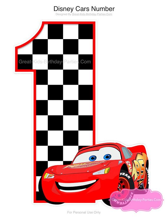 Checkered Flag Party Supplies Race Car Decorations Lightning McQueen Birthday