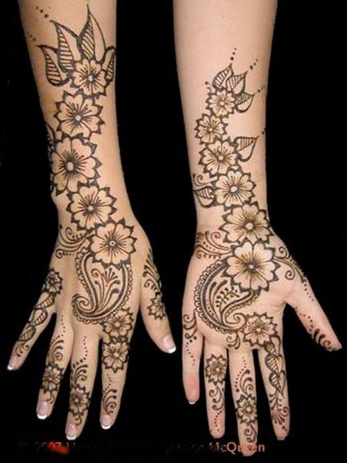 Simple Arabic Mehndi Designs For Hands 2013-2014