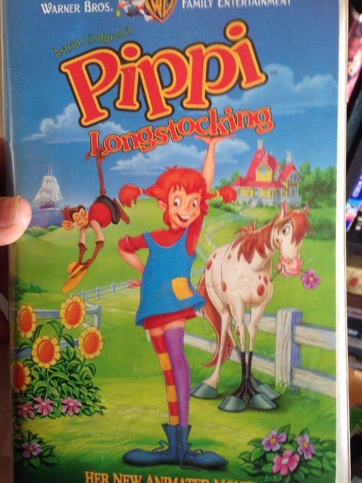Pippi Longstocking (VHS, 1997)