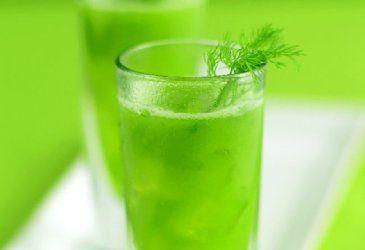 Frisk agurkdrikk