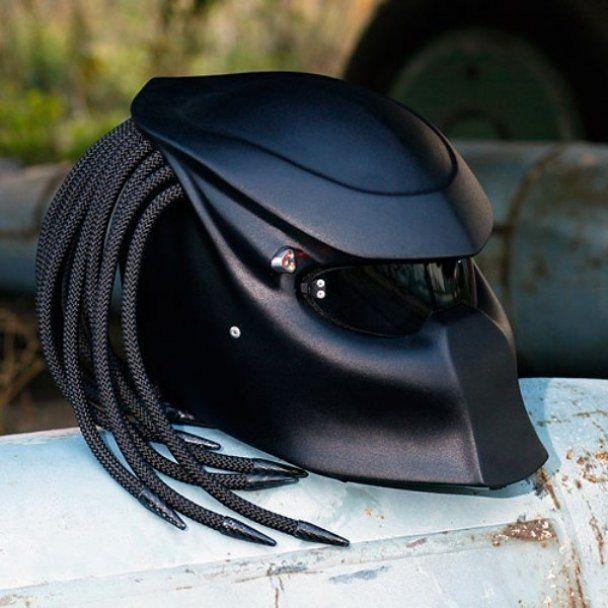 Biker helmet design