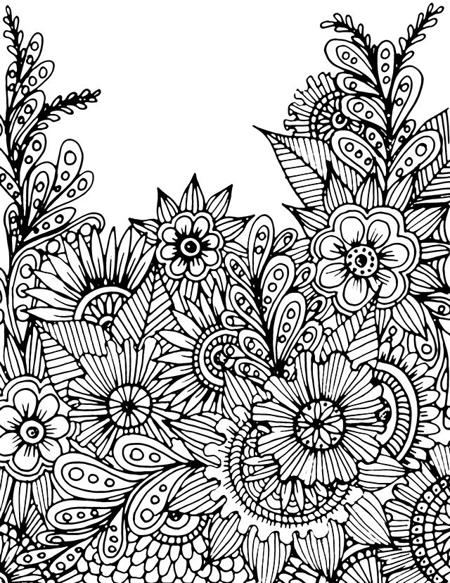 Free Coloring Page Download From Alisa Burke More