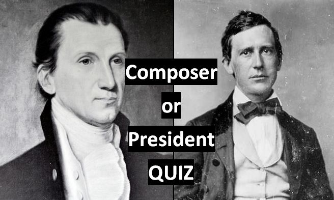 Composer or President Quiz :http://www.stringquest.com/composer-or-president-quiz/