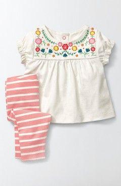 15e2ed6dcd2ed Mini Boden Summer Top & Leggings Set (Baby Girls & Toddler Girls ...