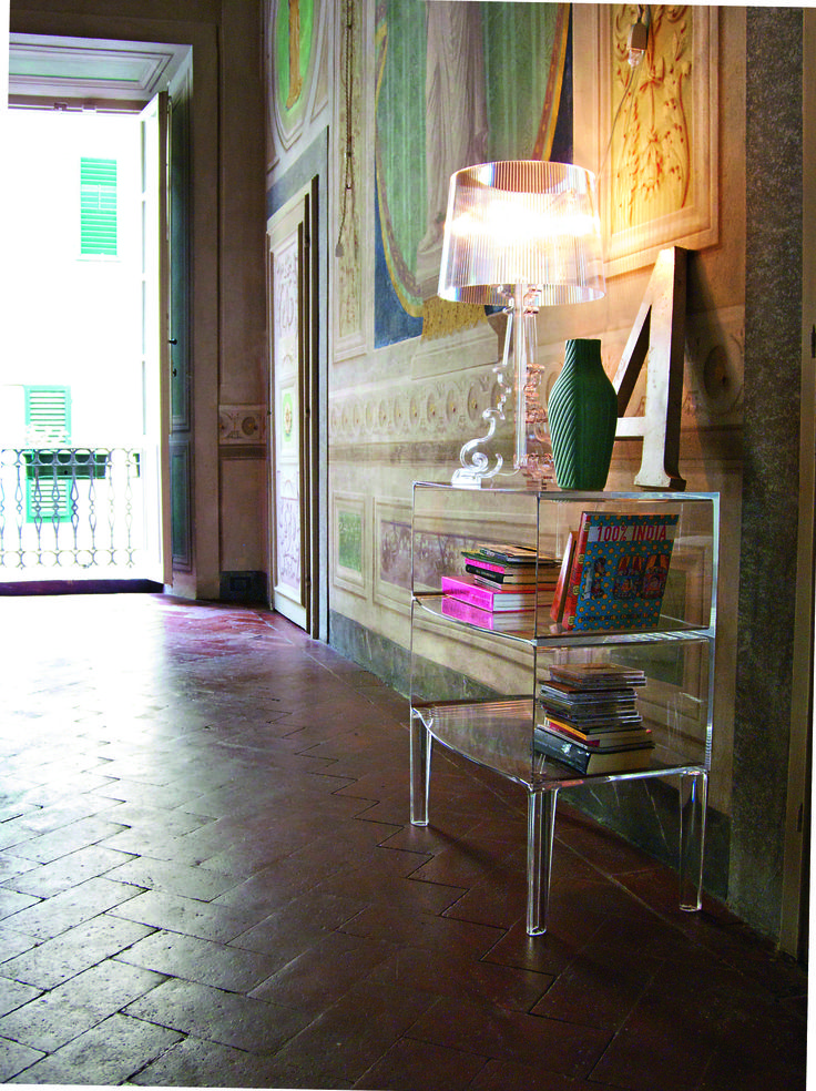 The Kartell's Bourgie lamp by Ferruccio Laviani.