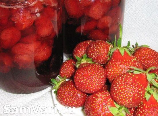 Варенье из клубники. Strawberry preserves