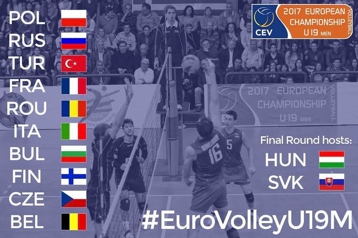 Tragerea la sorti pentru #EuroVolleyU19M va avea loc joi de la 15.00 in Győr. O transmisie Livestream va fi disponibila pe site-ul Federatiei Maghiare de Volei www.hunvolley.hu #HaiRomania #FRVolei #volleyball  #volei #sports Mai multe aici: http://bit.ly/2ksfWNB