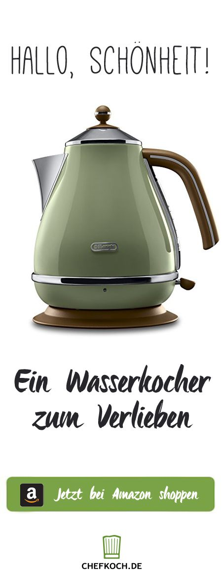 New Wasserkocher im Retro Look