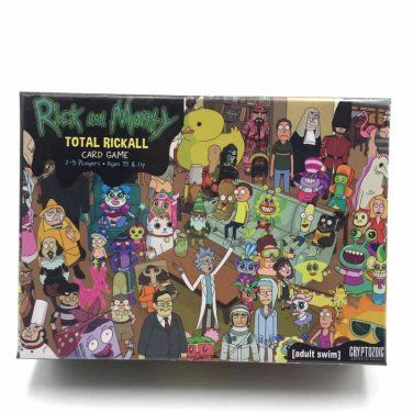 The Total Rickall Cooperative Card Game is based on the Rick and Morty episode of the same name. If you haven't seen it, don't worry. You can still pl