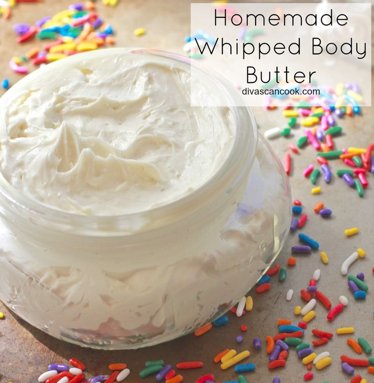 Vanilla Whipped Body Butter Recipe Whipped body butter