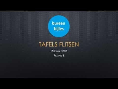 Tafels flitsen mix filmpje 5 - YouTube