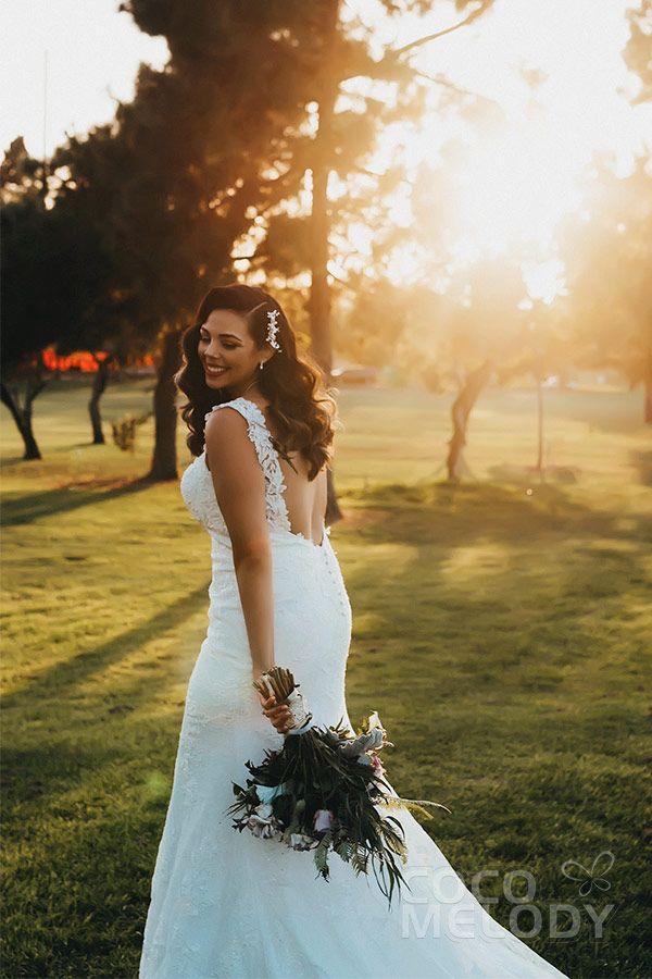 Usd 529 Sheath Column Straps Court Train Wedding Dress