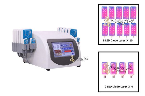 DIODE LIPO LASER LLLT LIPOLYSIS 14 PADS SLIMMING WEIGHT FAT DISSOLVE SKIN CARE MACHINE