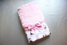 DIY súper fácil: Mantita para bebé con tela minky ~ Sara's Code: Blog de Costura + DIY