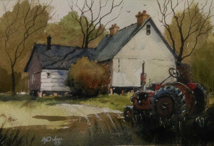 """""""HOME SWEET HOME"""" by Brian Dickinson. Paintings for Sale. Bluethumb - Online Art Gallery"""