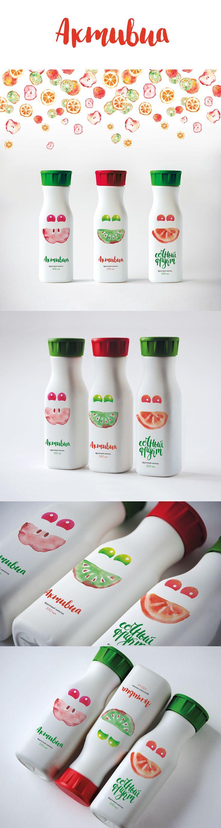 packaging fruit drink brand